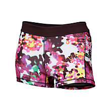 Buy Adidas Techfit 3 Inch Floral Print Short Tights, Multi Online at johnlewis.com