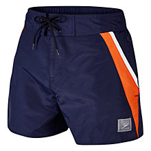 "Buy Speedo Men's Retro Leisure 14"" Watershorts, Navy Online at johnlewis.com"