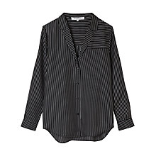 Buy Gerard Darel Pinstriped Silk Shirt Online at johnlewis.com