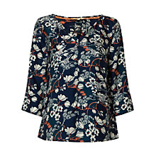 Buy White Stuff Magnolia Top, Heron Blue Online at johnlewis.com