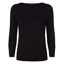 Buy Jaeger Jewel Embellished Jersey Top Online at johnlewis.com