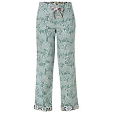Buy White Stuff Hidden Tree PJ Bottom, Soft Mint Online at johnlewis.com