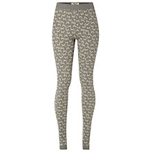 Buy White Stuff Foxy Jacquard Leggings, Fog Grey Online at johnlewis.com