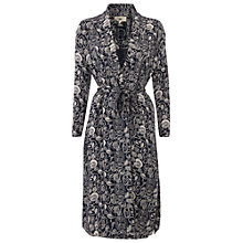 Buy White Stuff Starry Night Luxe Robe, Atlantic Blue Online at johnlewis.com