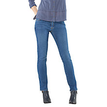 Buy White Stuff Abigail Straight Leg Jeans, Authentic Light Online at johnlewis.com