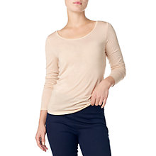Buy Phase Eight Scoop Neck T-Shirt Online at johnlewis.com