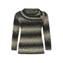 Buy Precis Petite Ombre Boucle Jumper, Brown Online at johnlewis.com