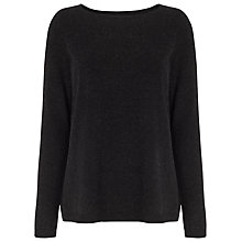 Buy Phase Eight Alma Jumper, Charcoal Marl Online at johnlewis.com