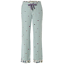 Buy White Stuff Gingham Heart PJ Bottom, Soft Mint Online at johnlewis.com