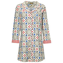 Buy White Stuff Secret Foxes Nightshirt, Biscuit Online at johnlewis.com
