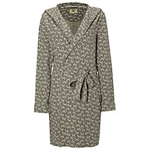 Buy White Stuff Foxy Jacquard Dressing Gown, Fog Grey Online at johnlewis.com