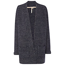 Buy White Stuff Rustic Makers Chunky Cardigan, Navy Online at johnlewis.com