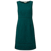 Buy White Stuff Decedent Textured Dress, Decadent Green Online at johnlewis.com