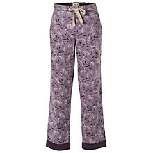 Buy White Stuff Nuts About Squirrels PJ Bottom, Fondant Purple Online at johnlewis.com