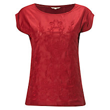 Buy White Stuff Reflection T-Shirt, Rich Red Online at johnlewis.com