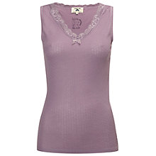 Buy White Stuff Oh My Dear Vest, Fond Purple Online at johnlewis.com