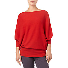 Buy Phase Eight Britney Batwing Jumper, Red Online at johnlewis.com