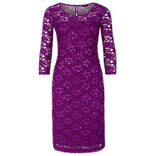 Buy Precis Petite Sheer Yoke Lace Dress Online at johnlewis.com