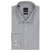 Buy Daniel Hechter Fine Stripe Shirt, Charcoal Online at johnlewis.com