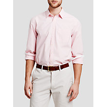 Buy Thomas Pink Longitude Check Shirt, Pink/White Online at johnlewis.com