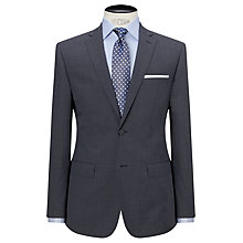 Buy Daniel Hechter Puppytooth Tailored Fit Suit Jacket, Airforce Online at johnlewis.com