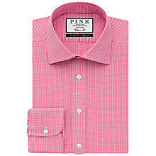Buy Thomas Pink Davenport Textured Classic Fit XL Sleeve Shirt Online at johnlewis.com