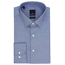 Buy Daniel Hechter Dobby Shirt, Navy Online at johnlewis.com