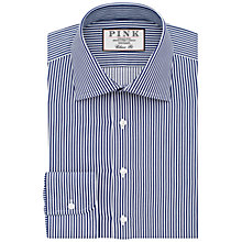 Buy Thomas Pink Grant Classic Fit XL Sleeve Stripe Shirt Online at johnlewis.com