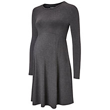 Buy Isabella Oliver Danbury Maternity Dress, Dark Grey Melange Online at johnlewis.com