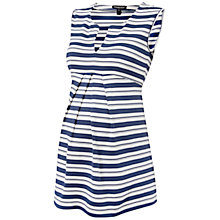 Buy Isabella Oliver Imogen Stripe Maternity Top, Navy/White Online at johnlewis.com