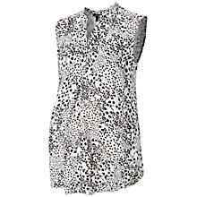 Buy Isabella Oliver Ellanby Maternity Top, Black/White Online at johnlewis.com