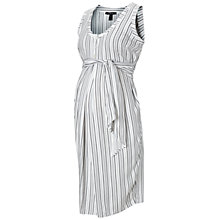Buy Isabella Oliver Burnell Maternity Nursing Dress, White Online at johnlewis.com