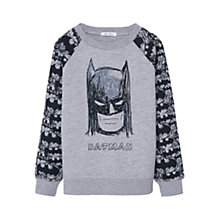 Buy Mango Kids Boys' Batman Sweatshirt, Grey Online at johnlewis.com