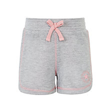 Buy Converse Girls' Sprinter Shorts, Grey Online at johnlewis.com