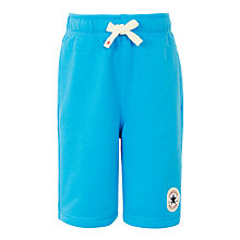 Buy Converse Boys' French Terry Shorts, Blue Online at johnlewis.com