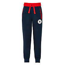 Buy Converse Boys' Jogger Trousers, Navy Online at johnlewis.com