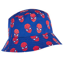 Buy Spider-Man Print Bucket Hat, Navy Online at johnlewis.com