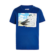 Buy Converse Boys' Mid Sketch T-Shirt, Blue Online at johnlewis.com