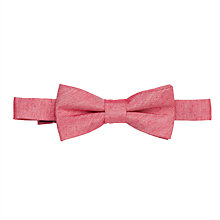 Buy John Lewis Boys' Bow Tie, Red Online at johnlewis.com