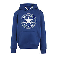 Buy Converse Boys' Core Hoodie, Blue Online at johnlewis.com