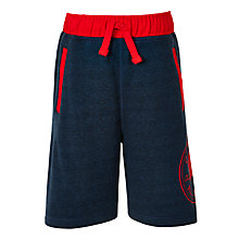 Buy Converse Boys' Woven Waistband Shorts, Navy Online at johnlewis.com