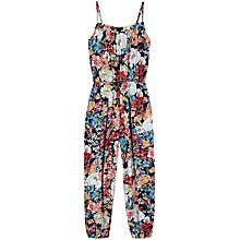 Buy Yumi Girls' Sunset Butterfly Jumpsuit, Multi Online at johnlewis.com