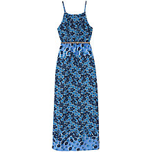 Buy Yumi Girl Fading Floral Maxi Dress, Blue Online at johnlewis.com