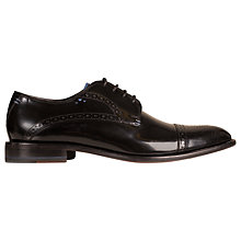 Buy Oliver Sweeney Bewerley Leather Brogues, Black Online at johnlewis.com