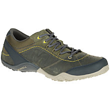 Buy Merrell Wraith Fire Suede Lace-Up Walking Shoes, Dark Olive Online at johnlewis.com
