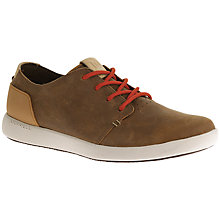 Buy Merrell Freewheel Lace-Up Trainers, Brown Sugar Online at johnlewis.com