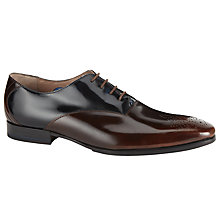 Buy Oliver Sweeney Belair Lace-Up Oxford Shoes, Brown/Navy Online at johnlewis.com