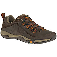 Buy Merrell Helixer Distort Lace-Up Trainers, Espresso Online at johnlewis.com