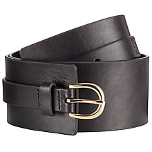 Buy John Lewis Lola Thick Waist Leather Belt Online at johnlewis.com
