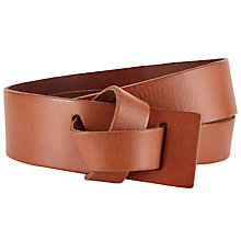 Buy John Lewis Willow Leather Wide Loop Belt Online at johnlewis.com